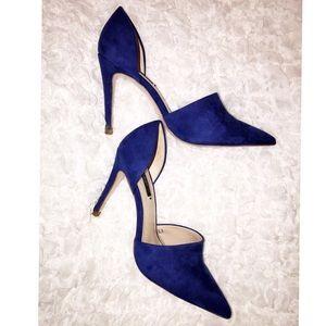 Zara Basic Royal Blue Heels
